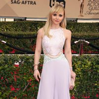 Christina Ricci in red carpet of SAG Awards 2016