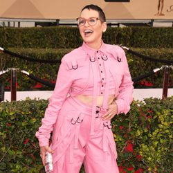 Lori Petty in red carpet in SAG Awards 2016