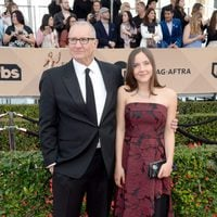 Ed O'Neill and Sophia O'Neill at the SAG Awards 2016 red carpet