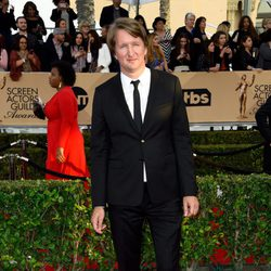 Tom Hooper in red carpet of SAG Awards 2016
