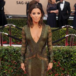 Eva Longoria in red carpet in SAG Awards 2016