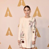 Rooney Mara at the Oscar 2016 nominees luncheon