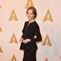 Charlotte Rampling at the Oscar 2016 nominees luncheon