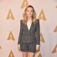 Saoirse Ronan at the Oscar 2016 nominees luncheon