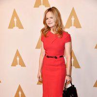 Jennifer Jason Leigh at the Oscar 2016 nominees luncheon