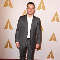 Matt Damon at the Oscar 2016 nominees luncheon