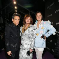 Ben Stiller, Susan Sarandon and her son at the 'Zoolander 2' premiere
