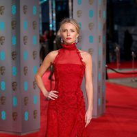 Annabelle Wallis at the 2016 BAFTA Awards' red carpet