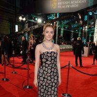 Saoirse Ronan at the 2016 BAFTA Awards' red carpet