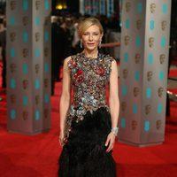 Cate Blanchett at the 2016 BAFTA Awards' red carpet