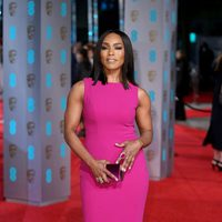 Angela Bassett at the 2016 BAFTA Awards' red carpet
