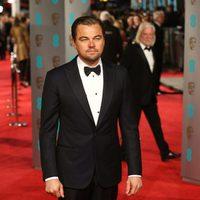 Leonardo DiCaprio at the 2016 BAFTA Awards' red carpet