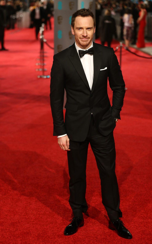 Michael Fassbender at the 2016 BAFTA Awards' red carpet