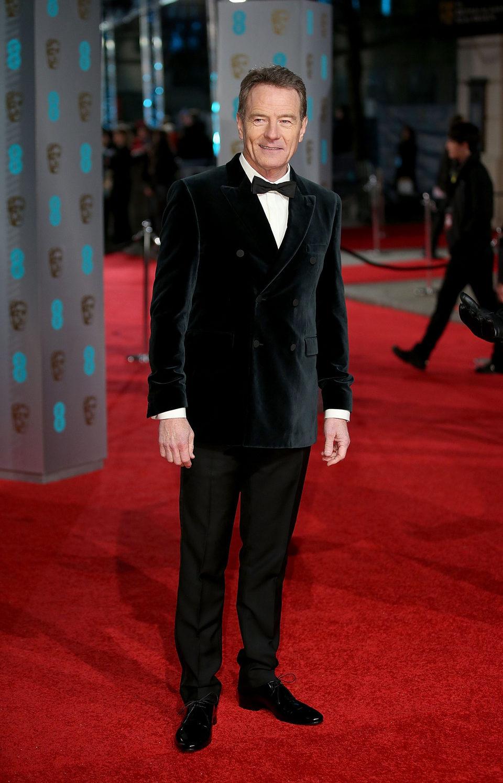 Bryan Cranston at the 2016 BAFTA Awards' red carpet