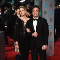 Mark Ruffalo at the 2016 BAFTA Awards' red carpet