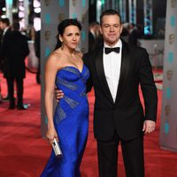 Matt Damon at the 2016 BAFTA Awards' red carpet