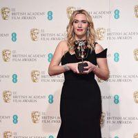 Kate Winslet wins Supporting Actress BAFTA Award 2016