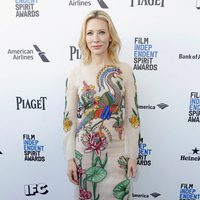 Cate Blanchett at the 2016 Independent Spirit Awards red carpet