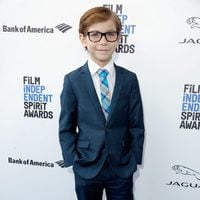Jacob Tremblay at 2016 Independent Spirit Awards red carpet
