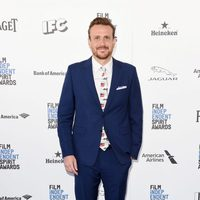 Jason Segel at 2016 Independent Spirit Awards red carpet
