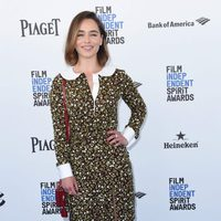 Emilia Clarke at 2016 Independent Spirit Awards red carpet