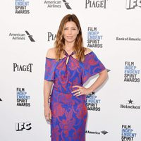 Jessica Biel at 2016 Independent Spirit Awards red carpet