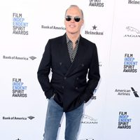 Michael Keaton at 2016 Independent Spirit Awards red carpet