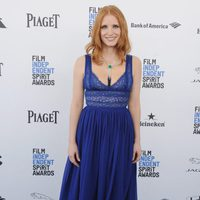 Jessica Chastain at 2016 Independent Spirit Awards red carpet