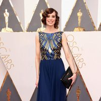 Chloe Pirrie at the Oscars 2016 red carpet