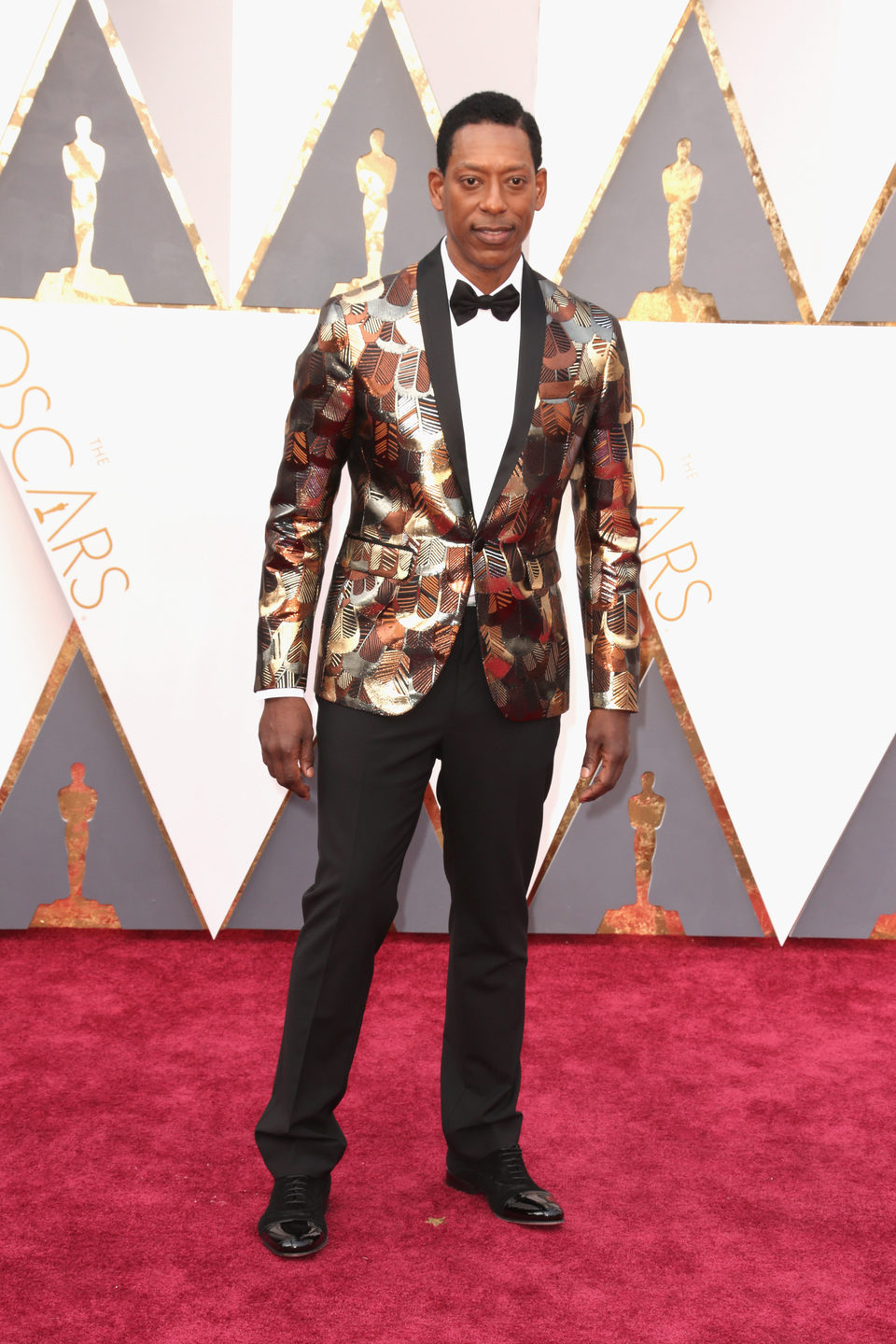 Orlando Jones at the Oscars 2016 red carpet