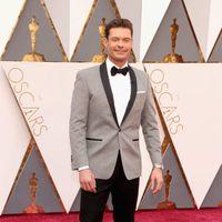 Ryan Seacrest at the Oscars 2016 red carpet