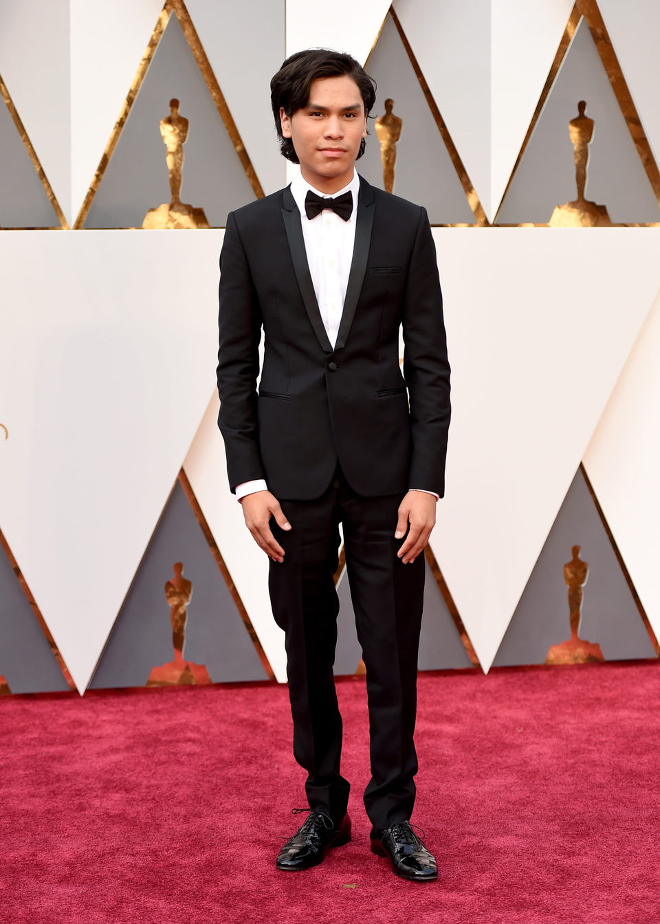 Forrest Goodluck at the Oscars 2016 red carpet