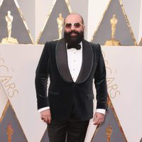 Paco Delgado at the Oscars 2016 red carpet