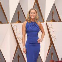 Lara Spencer at the Oscars 2016 red carpet