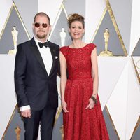 Eva von Bahr and Love Larson at the Oscars 2016 red carpet