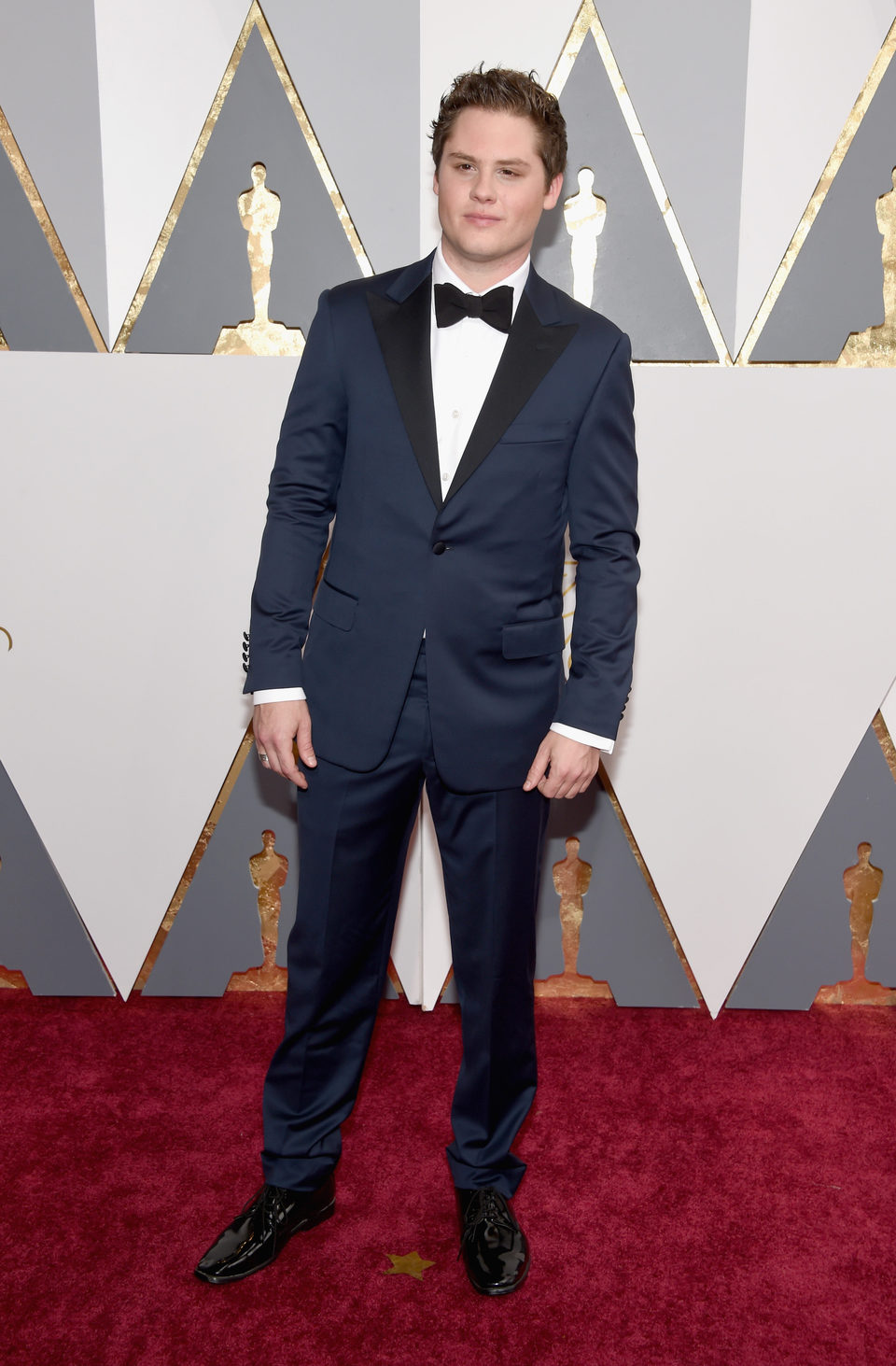 Matt Shively at the Oscars 2016 red carpet