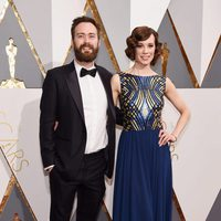 Benjamin Cleary at the Oscars 2016 red carpet