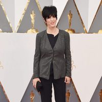 Diane Warren at the Oscars 2016 red carpet