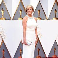 Joy Mangano at the Oscars 2016 red carpet