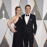 Courtney Marsh and Jerry Franckat the Oscars 2016 red carpet