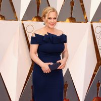 Patricia Arquette at the Oscars 2016 red carpet