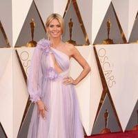 Heidi Klum at the Oscars 2016 red carpet