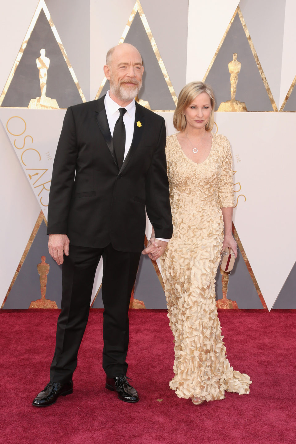 J. K. Simmons at the Oscars 2016 red carpet
