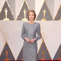 Charlotte Rampling at the Oscars 2016 red carpet