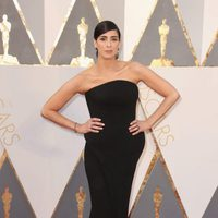 Sarah Silverman at the Oscars 2016 red carpet