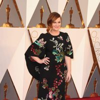 Amy Poehler at the Oscars 2016 red carpet