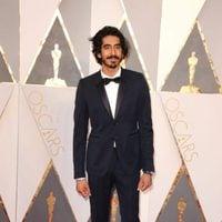Dev Patel at the Oscars 2016 red carpet