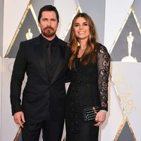 Christian Bale at the Oscars 2016 red carpet