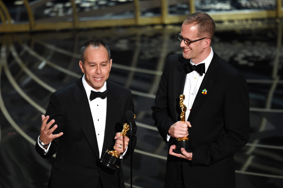 Jonas Rivera and Pete Docter- Best Animated Feature Film