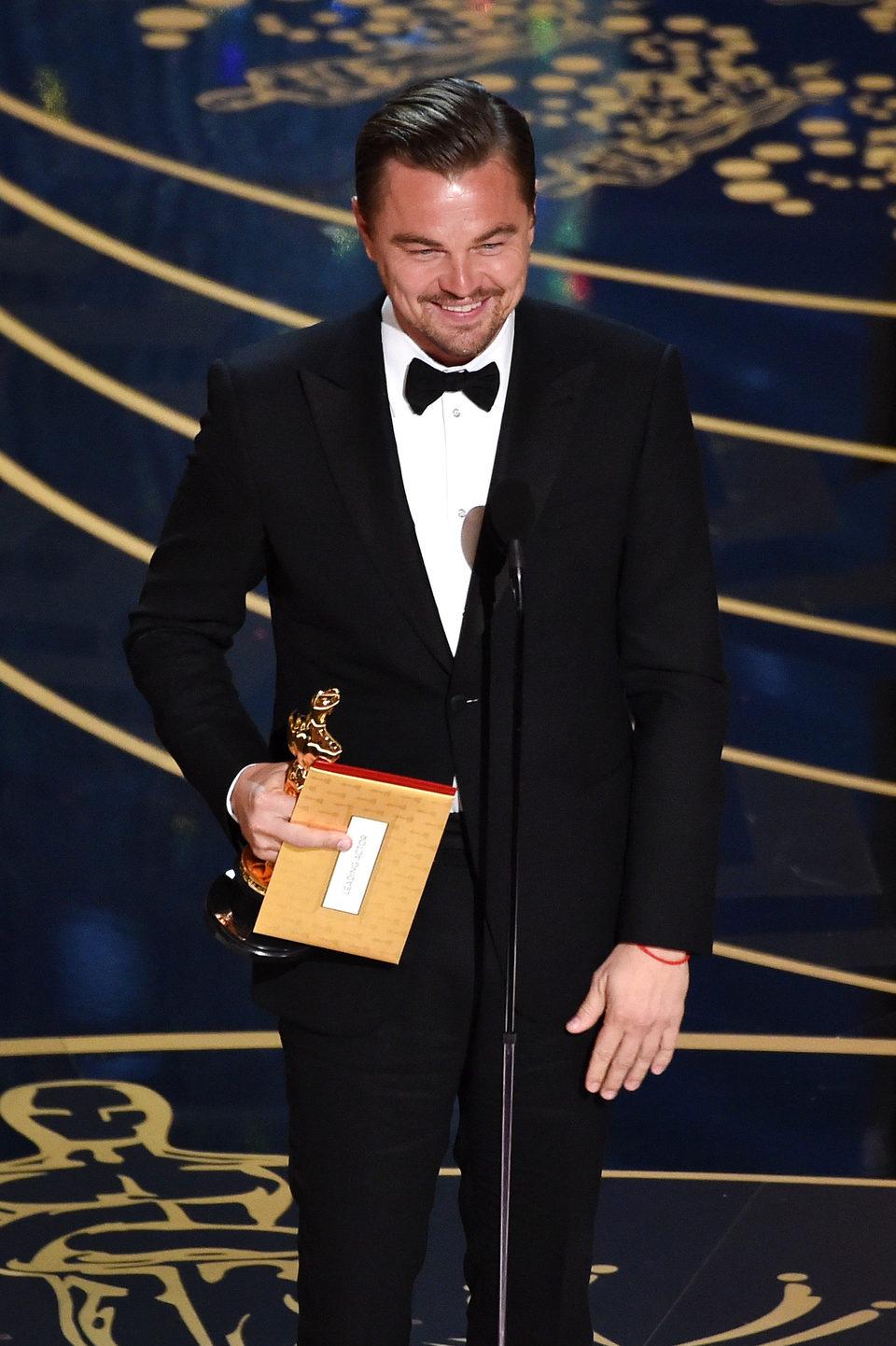 Leonardo DiCaprio - Best Actor